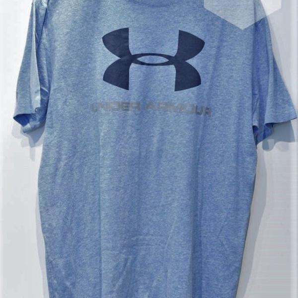 Camiseta azul under armour loose (m)