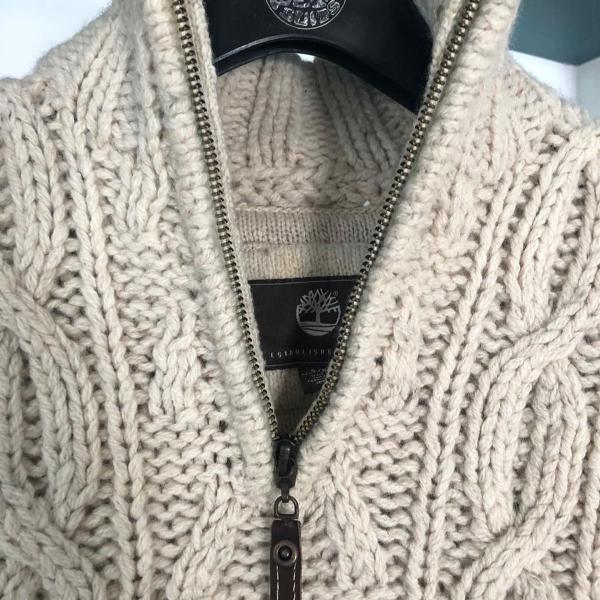 Casaco tricot timberland