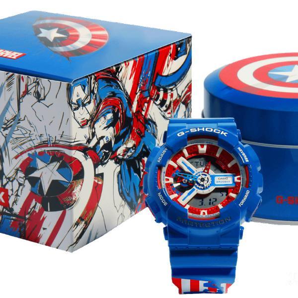 Relógio casio g shock marvel novo lacrado na caixa