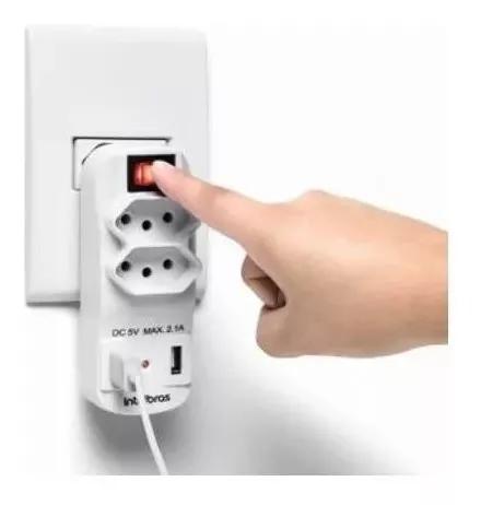 Adaptador e carregador usb múltiplo para celular eac 1002