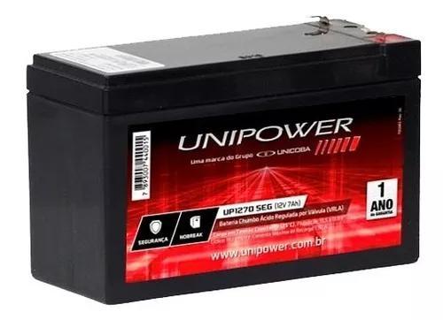 Bateria 12v 7ah p/ nobreak alarme cerca elétrica segurança