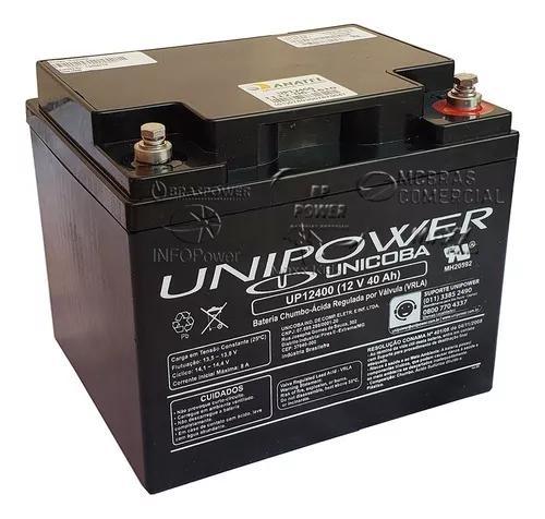 Bateria gel selada 12v 40ah - tecnologia agm vrla promoção