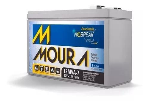 Bateria moura estacionária(selada) 12 volts 7,0 amperes