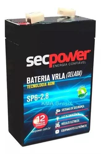 Bateria selada 6v 2.8ah wp