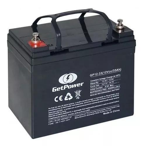 Bateria selada vrla - 12v 33ah tecnologia agm