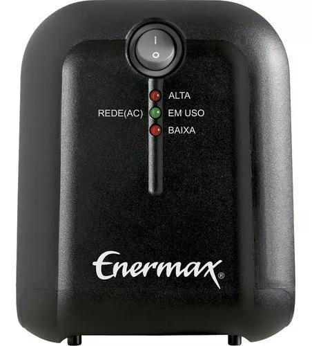 Estabilizador enermax 500va bivolt s