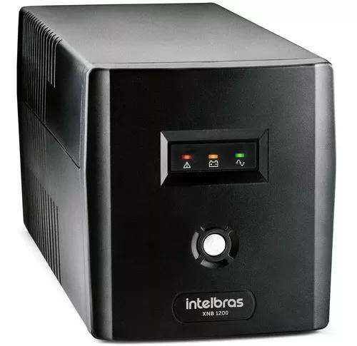 Nobreak intelbras 1200va mono 220v p/ pc xbox camera dv