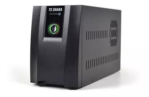 Nobreak ts shara ups compact pro/1400 biv. aut. 6t 115/220