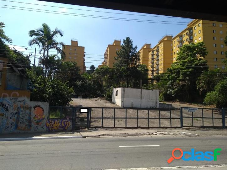 Terreno com área de 3.709 m² na estrada de itapecerica