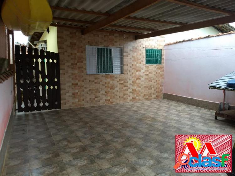 Casa 2dormit 1suite 60mil + parcelas em mongaguá na mendes casas de praia