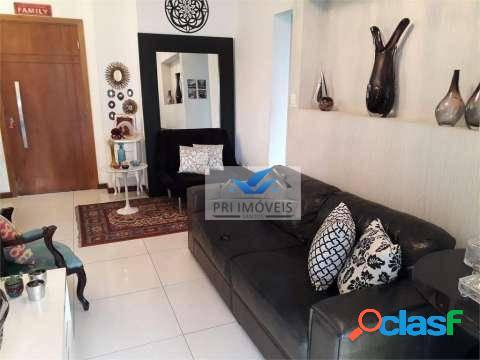 Apartamento à venda, 198 m² por r$ 1.190.000,00 - boqueirão - santos/sp