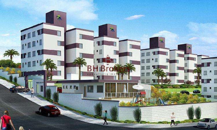 Apartamento, novo centro, 2 quartos, 1 vaga, 0 suíte