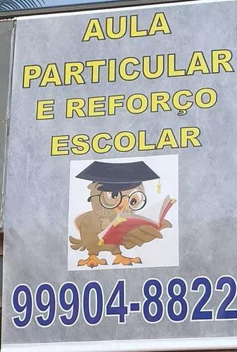Aula particular de português, redaçao, geografia e