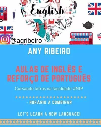 Aulas particulares de inglês e português