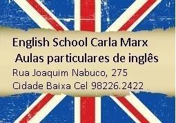 Aulas Particulares De Inglês Na Cidade Baixa