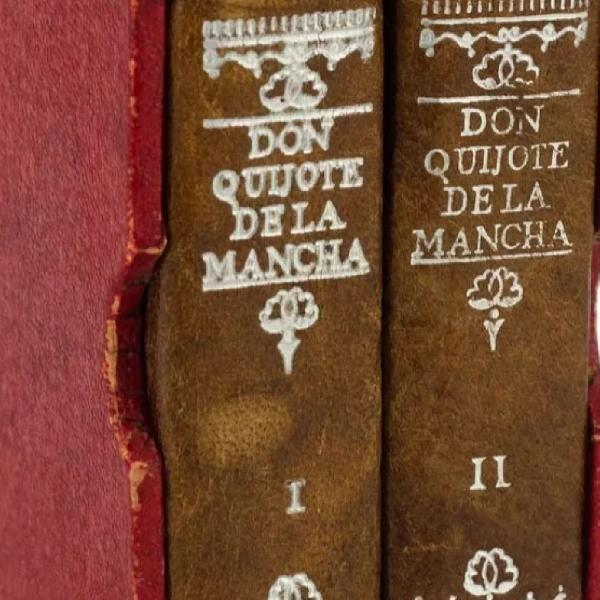 Dom quixote, edição miniatura 1952