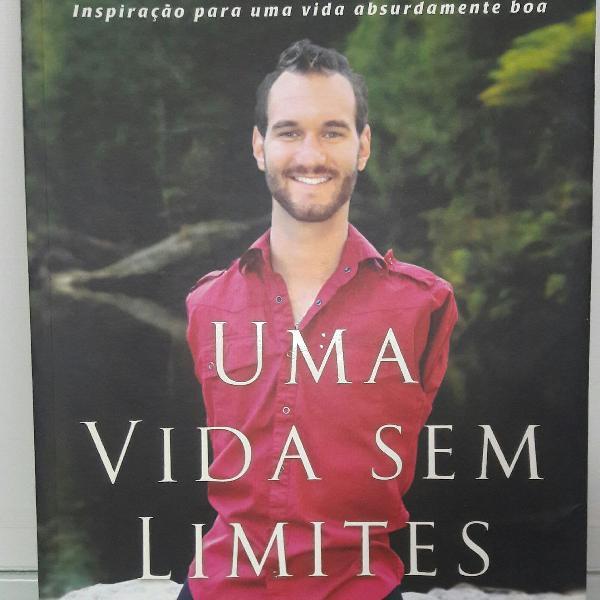 Livro uma vida sem limites - nick vujicic