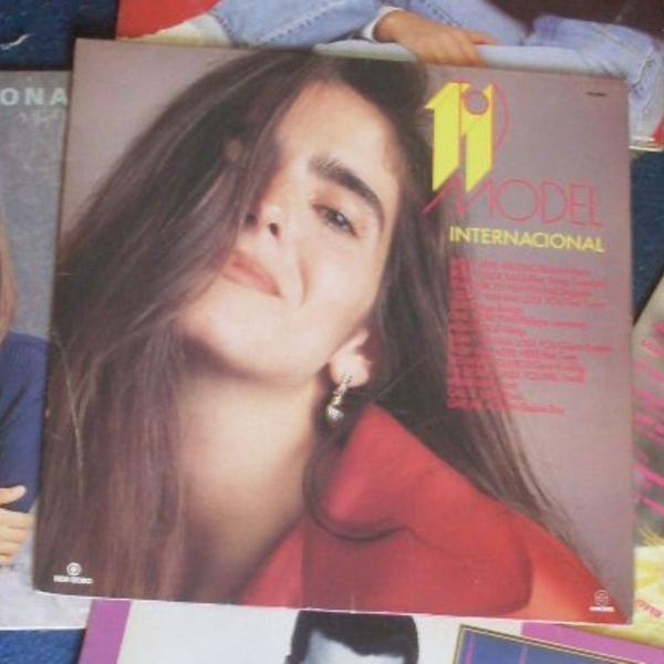 """Lp/ vinil - trilha sonora internacional novela """"top model"""" -"""