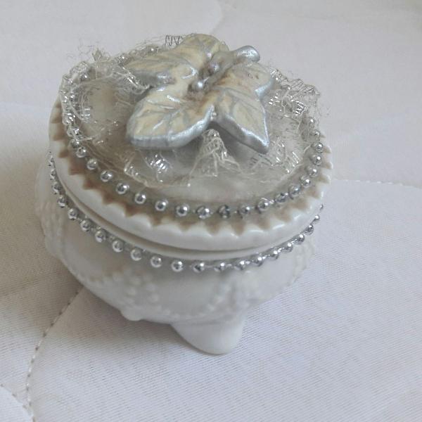 Porta jóias/anéis/brincos vintage retrô