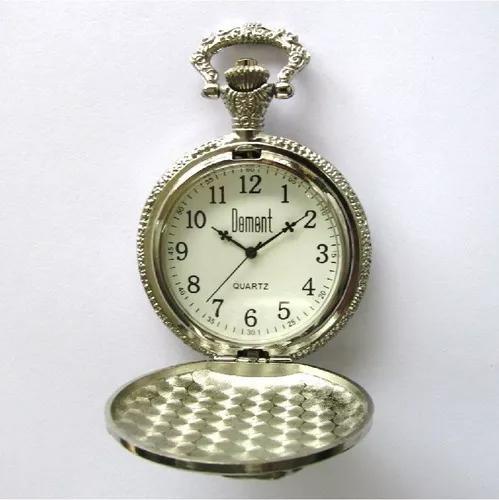 Relógio de bolso domont quartz mecanismo myota