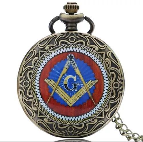 Relógio de bolso maçonaria