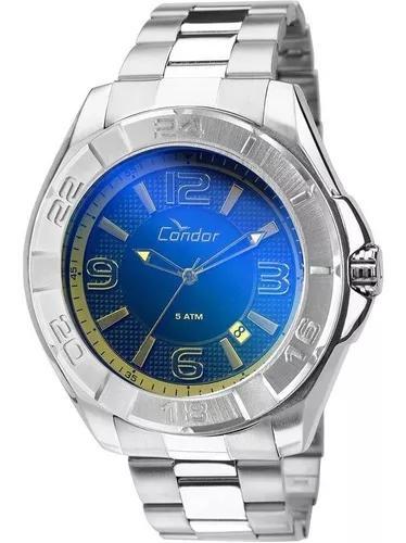 Relógio masculino condor analógico esportivo co2415af/3a