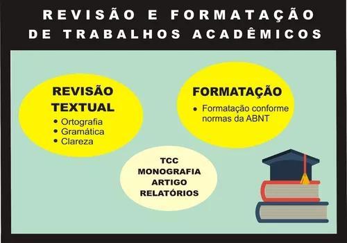 Revisão e formatação de trabalhos acadêmicos - tcc