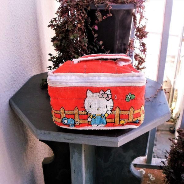 Bolsinha vintage hello kitty