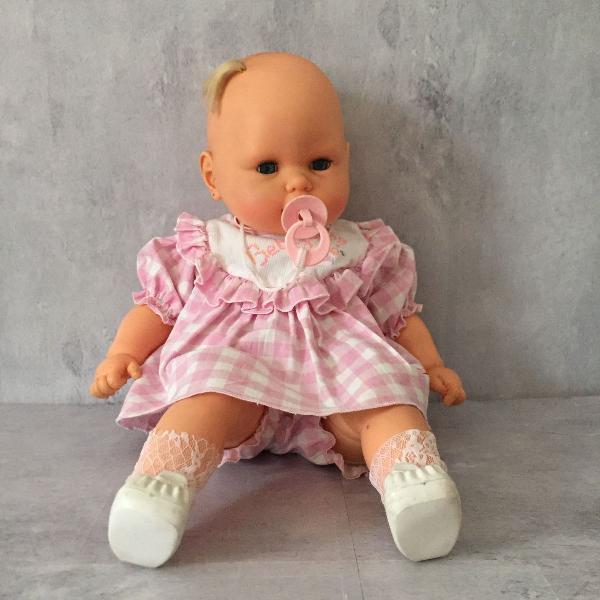 Boneca bebezinho da estrela - vintage anos 80