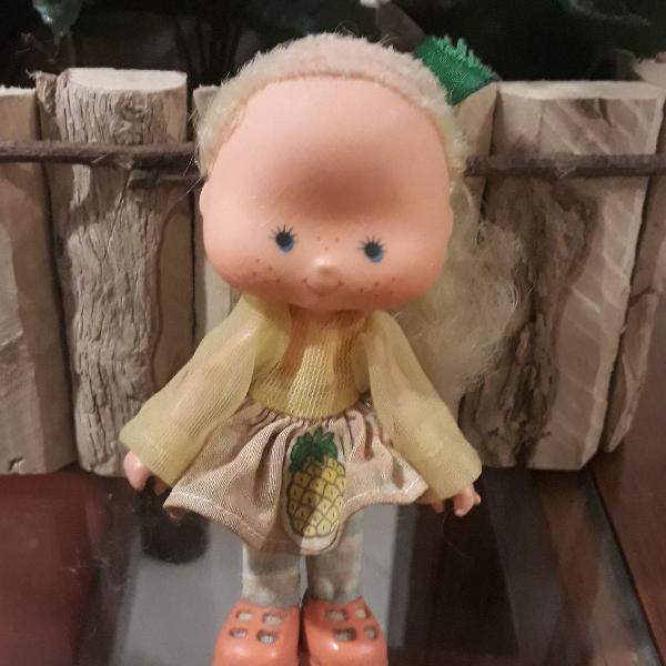 Boneca moranguinho anos 80 abacaxizinho