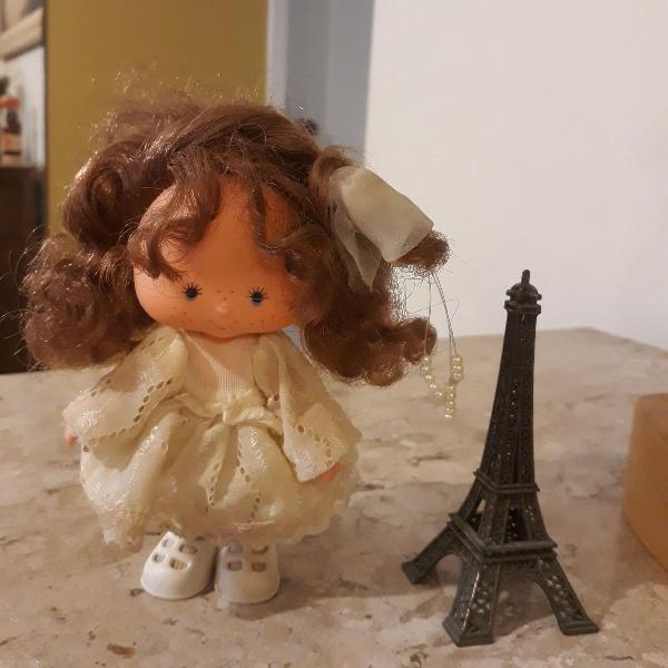 Boneca moranguinho anos 80 noivinha