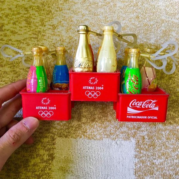 Coleção coca cola olimpíadas athenas 2004 original