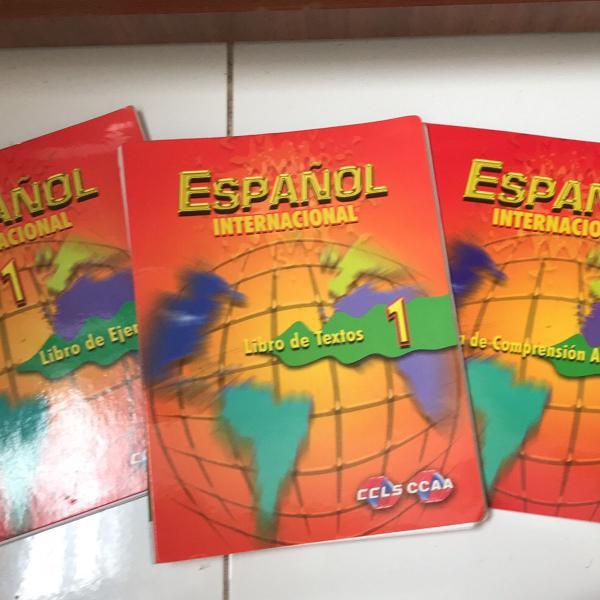 Espanhol 1 ccaa livro