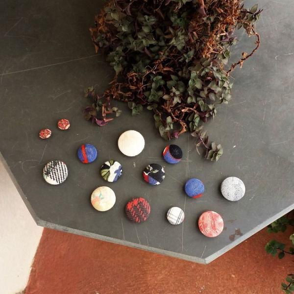 Kit 14 botões vintage sortidos