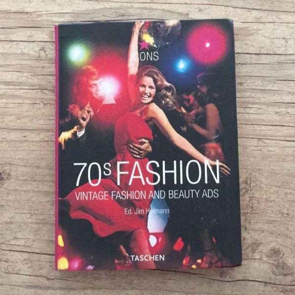 Livro 70s fashion