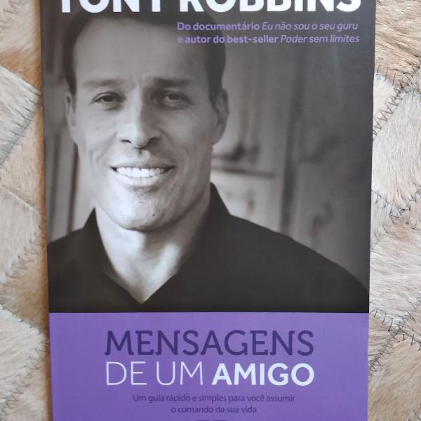Livro tony robbins mensagens de um amigo