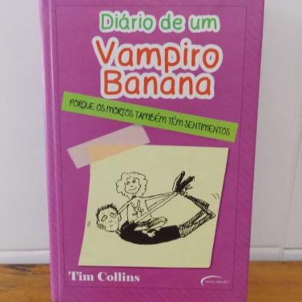 Livro diário de um banana vampiro banana