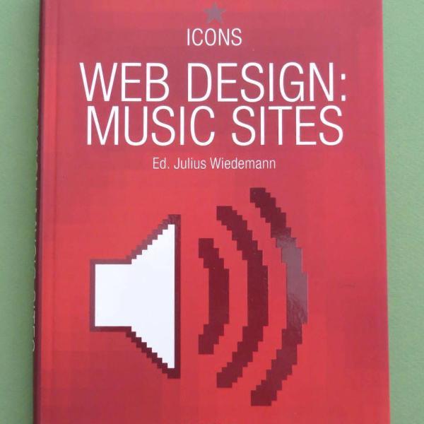 Livro web design: music sites