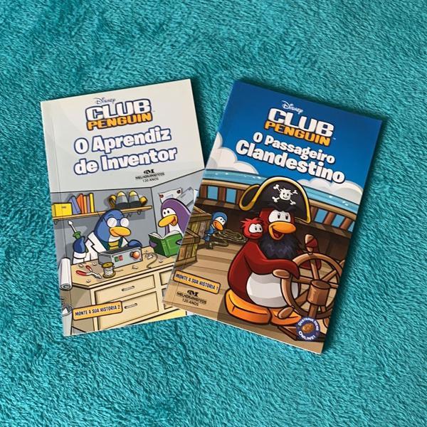 Livros club penguin