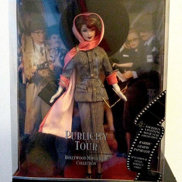 Publicity tour barbie doll