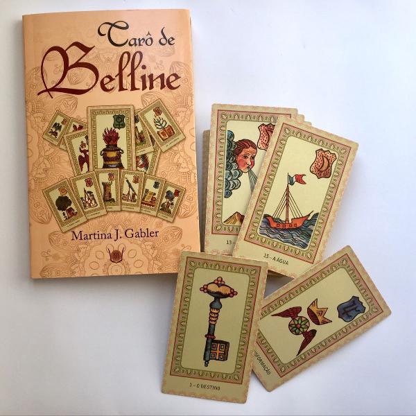 Tarô de belline - livro e cartas
