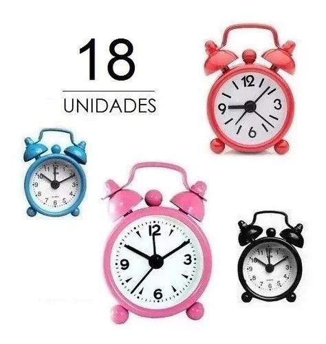 18 mini despertador souvenir relógio presente l