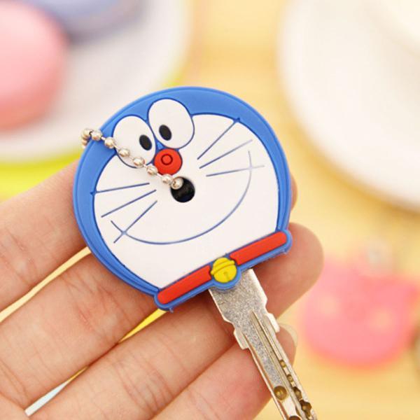 Capa charmosa de chave gato azul