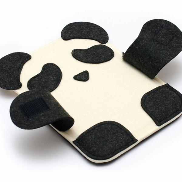 Capa protetora para celular panda
