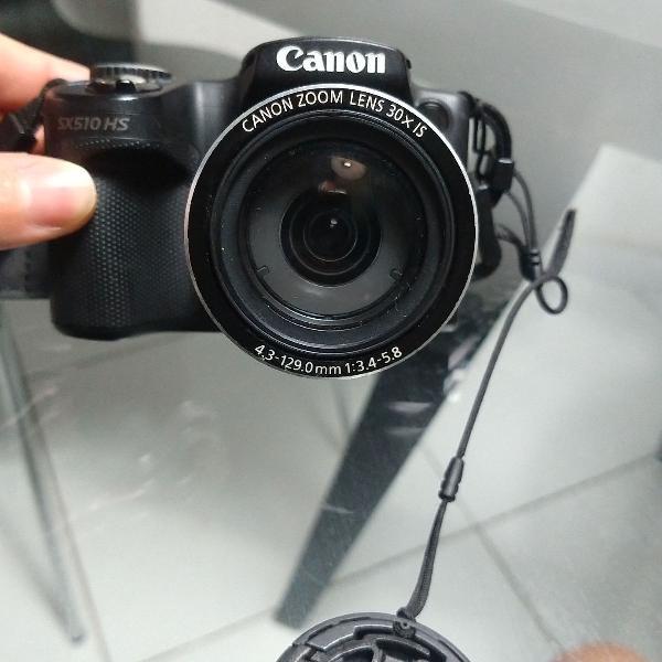 Câmera canon powershot sx 510 hs wi-fi