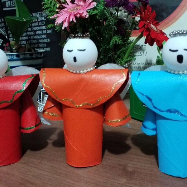 Decoração artesanal de natal