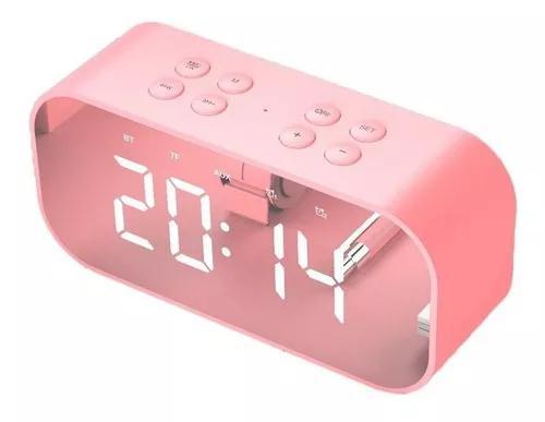 Led time snooze relógio despertador s