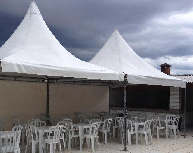 Locação de tendas para festa zona norte