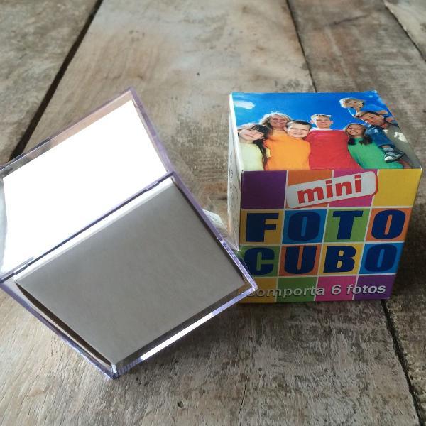 Mini foto cubos com 50 peças