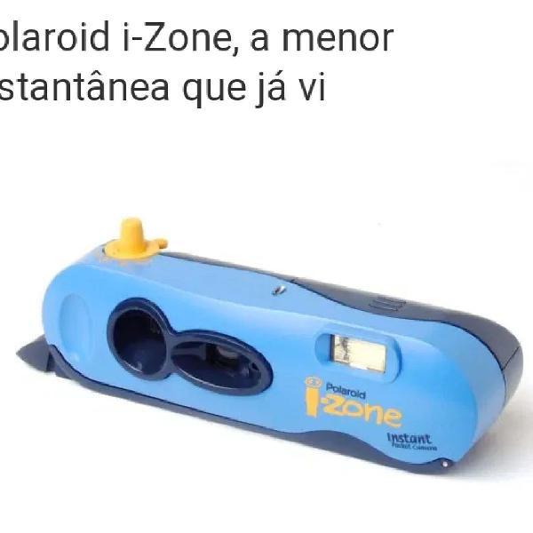 Máquina fotográfica polaroid i-zone